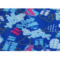 China Pvc / Pu Coated Blue Polyester Fabric Waterproof For Raincoat on sale