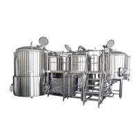 Buy cheap 500L Small Brewery Equipment SS316 Glycol Cooling Jacket With Semi Automatic from wholesalers