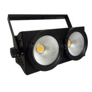 Buy cheap 2 Eyes Warm White Cool White 2in1 LED COB Blinder 2x100W Wash Par Light product