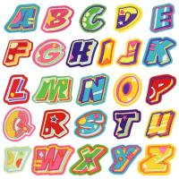 Buy cheap Embroidered Velcro Hook Embroidered Letter Patches For Jeans Socks Labels product