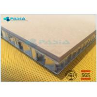 Buy cheap High Shear Strength Thin Limestone Veneer Panels With 27 Mm Thickness from wholesalers
