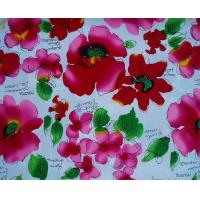 China Polyester custom printed fabric for making bed sheets on sale