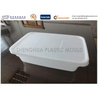 Buy cheap Safety Plastic Food Containers Airtight Food Storage Takeaway Rectangle Thin Wall product