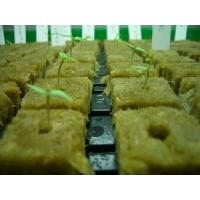 Buy cheap Yellow Hydroponic Rockwool Cubes For Vegetables Fruits , 1000mm Length product