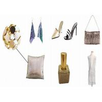 Buy cheap Golden / Silver Sequin Fabric Smooth Surface Various Colors For Shoes Decoration product