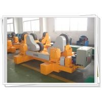 Buy cheap PU Wheel Self Aligned Weld Rotator With Motorized Bogie For Vessel Rotary product
