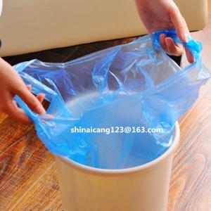 Buy cheap Bobine biodégradable de PE pour le sac de déchets BLEU, JAUNE, sac de déchets du BLANC 700*800mm 10mic 60L product