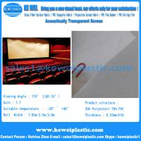 China Acoustically Transparent Screen on sale