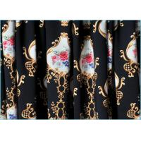 Buy cheap Clasical Design Printed Lycra Fabric / Warp Knitted Printed Spandex Fabric  1.5m*220gsm product