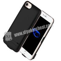 Buy cheap 4.7 Inch iPhone 6 / 7 / 8 Power Case Poker Scanner With IR Camera Inside To Scan Marked Playing Cards product