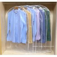 Buy cheap Personalized Household Household Storage Bags , Plastic Dust-Proof Garment Hanging Bags product