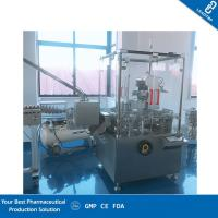 Buy cheap 220v / 380v Power Vertical Automatic Cartoning Machine With Long Life product