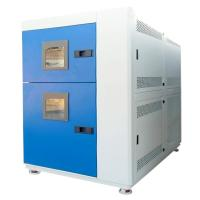 Buy cheap Basket Type 2 Zones Climatic Temperature Stainless Steel Thermal Shock Test Chamber product