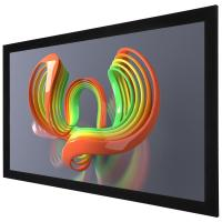 Buy cheap 3D Sliver Wall Mount Fixed Frame Projection Screen , Deluxe Home Cinema product