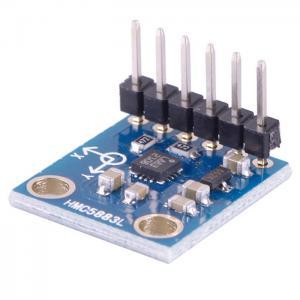 Buy cheap Módulo electrónico 3V-5V del sensor del magnetómetro del compás de HMC5883L 3 AXIS para Arduino product