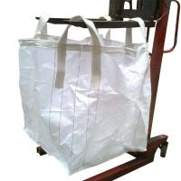 Buy cheap White Storage Flexible Bulk Container For Packing Cement / Sand / Mine product