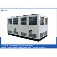Buy cheap 100 tons Air Cooled Screw Chiller with 2 Unit Compressors product