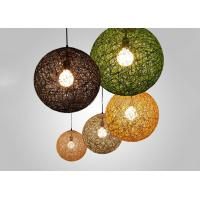 China Colorful Cane  Grass Suspension Light , Contemporary Lighting Fixtures for Homes on sale