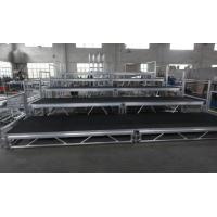 Buy cheap Toughened Glass Movable Stage Platform / Temporary Stage Platforms product