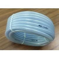 Buy cheap High Pressure Braided Hose , PVC Clear Reinforced Hose Pipe For Water Delivery product