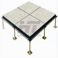 Buy cheap Building Antistatic Woodcore Raised Floor HPL Finish 600mm x 600mm product