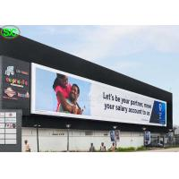 Buy cheap P10 High Resolution Advertising Full Color LED Screens IP65 Waterproof product