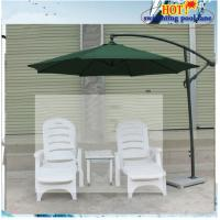 White Plastic Outdoor Furniture Quality
