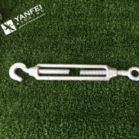 China Qingdao Yanfei Rigging -Rigging Hardware-6mm,8mm,10mm European type (commercial) eye hook turnbuckle on sale