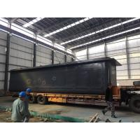 Buy cheap Corrosion Resistant Galvanised Tank, Durable Zinc Water TanksWith Round Bottom product