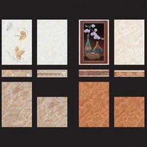 Застекленные поверхностные плитки стены, доступные в различных размерах и цветах