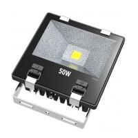 Buy cheap Ultra Bright 50W COB Waterproof LED Flood Lights With Tempering Glass Cover product