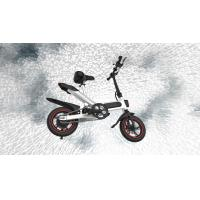Buy cheap Portable Folding Electric Bicycle36V Lithium Battery Powered Simple Style And Economical product