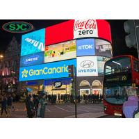 China Signboard Wall Video Advertising Led Display Screen Outdoor P4 3 Years Warranty on sale