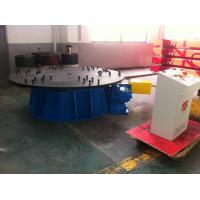 Buy cheap Manual Horizontal Rotary Table / Rotary Work Table Positioners product