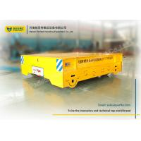 Buy cheap No Rail Material Transfer Cart Wireless Control For Warehouse Transport product