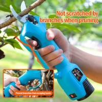 Buy cheap Swansoft 28mm 16.8V  Electric Garden Pruner Scissors Cordless Electric Pruning Shears Battery Orchard Pruner product