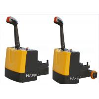 China Walking Type 1.5T 2T Electric Tow Tractor Power Outage And Brake Function on sale