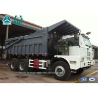 Buy cheap White Howo 6X4 High Efficiency Mining Dump Truck Front Tipping 371 HP from wholesalers