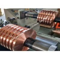 Buy cheap C1100 Red Copper Foil Strip Tape Soft Temper For Electric Power Industry product