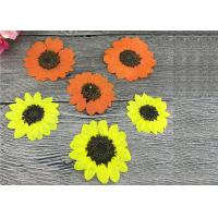 Beautiful Dried Flower Art Sun Flowers Diameter 5 CM For Postcard Handmade for sale