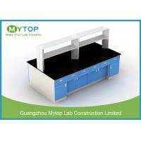 China Steel Structure Lab Bench Furniture For HIV Laboratory Heat Resistance on sale