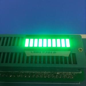 Buy cheap Pure Green 10 LED Light Bar 120MCD - 140MCD Luminous Intensity product