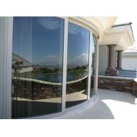 Quality Better flexibility Curved Tempered Glass railing panels with polish edge for sale