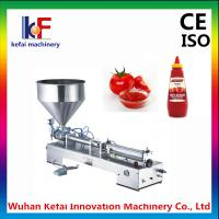 Buy cheap Hot-Sales Single head Semi-automatic Pneumatic hand cream filling machine product