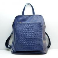Buy cheap Spring summer new large capacity female leisure fashion crocodile leather backpack product