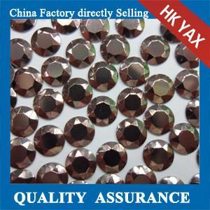Buy cheap China wholesale brown rhinestuds hot fix, octagon rhinestuds hot fix, hot fix studs product