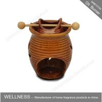 Buy cheap Classic Design Decorative Scented Oil Burners Ceramic Vase Shaped For Office product