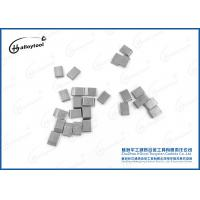 Buy cheap YG6/YG8/YG8C Sintered Tungsten Carbide Saw Tips Nickel Coated For Wood Cutting product