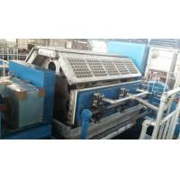 Buy cheap Paper Pulp Moulding Machine , Paper Tray Making Machine With Germany Valves product