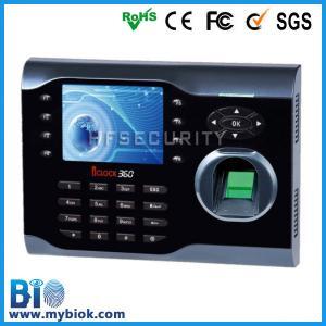 Buy cheap Биометрическое время отпечатка пальцев и Аттендасе БИО-Иклок360 product